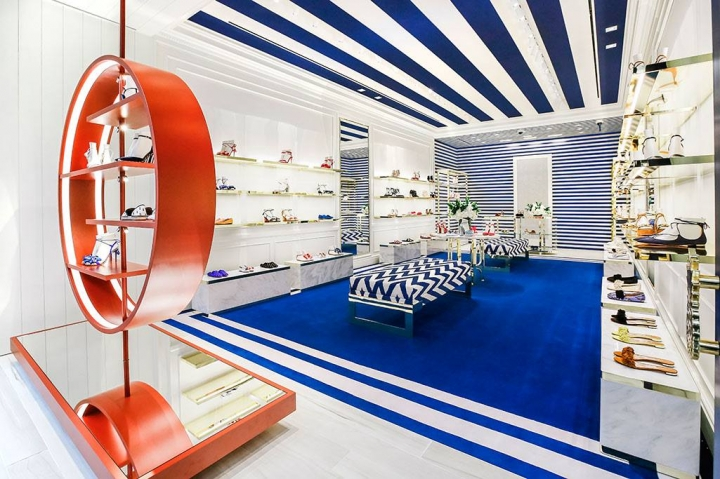 Aquazzura opens new store at South Coast Plaza California