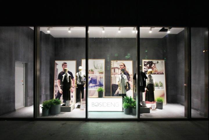 BOSIDENG fashion store interior by Ito Masaru Design