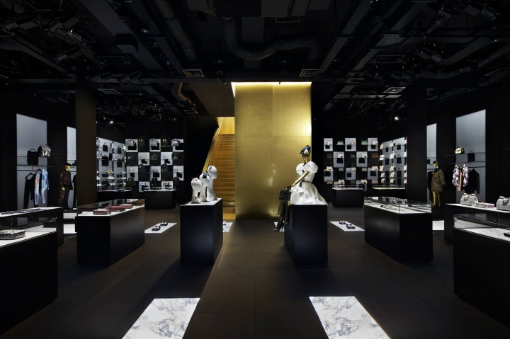 Dolce & Gabbana flagship store in Tokyo by Curiosity Inc