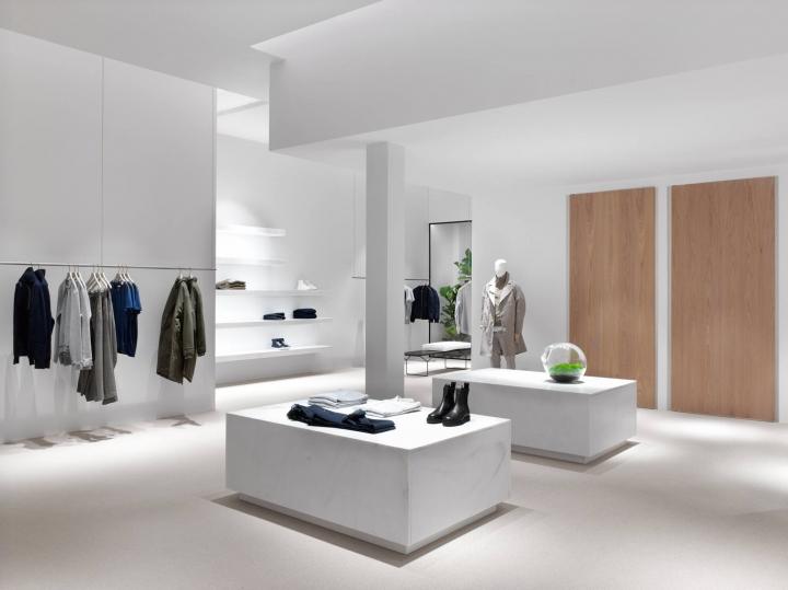 Filippa K store concept by White Arkitekter in Amsterdam
