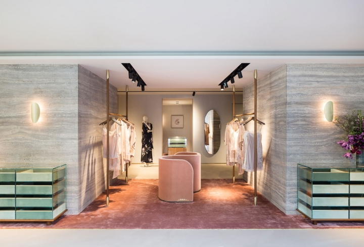 Carine Gilson flagship in Brussels is David/Nicolas first boutique concept