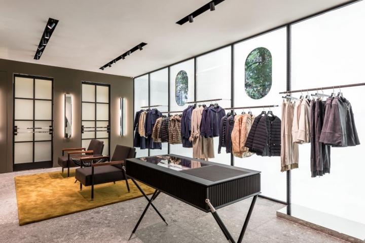 TATRAS Boutique in Milan designed by mrz architetti
