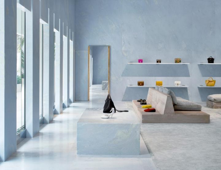 Céline flagship Miami store by Valerio Olgiati in Miami