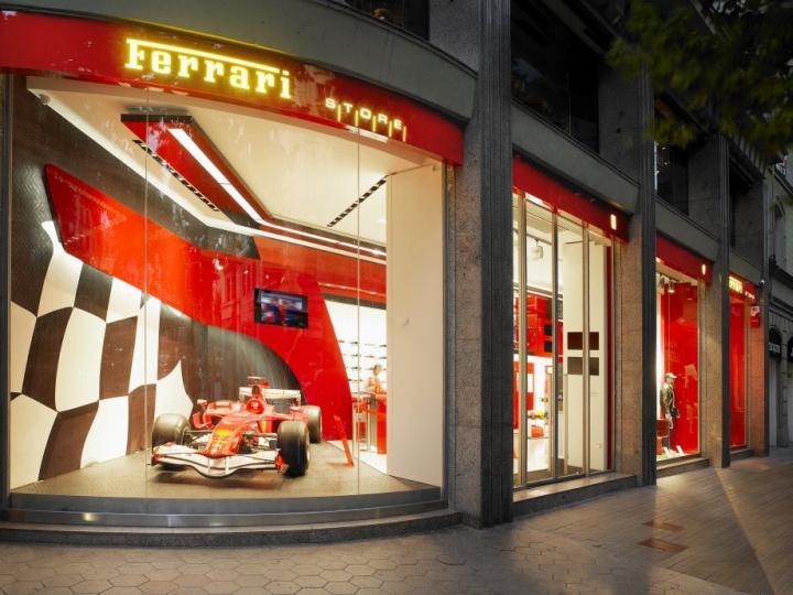 Ferrari Stores since 2002
