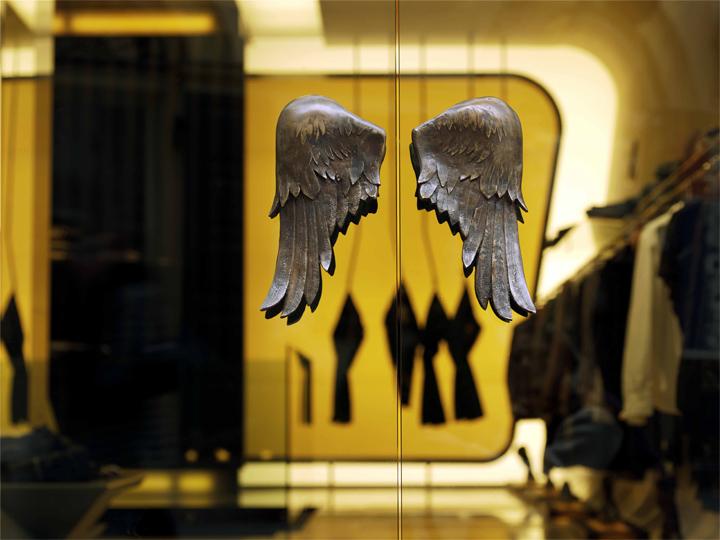 Heaven multi brand Luxury Store Design in Budapest