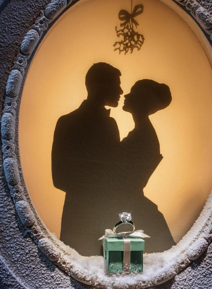 Tiffany & Co. holiday window displays 2012
